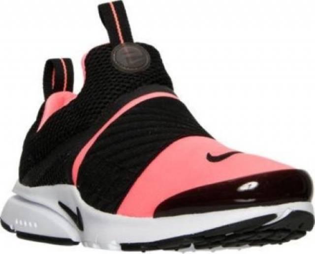 88882775f860 Girls  Grade School Nike Presto Extreme Running Black Lava Glow ...