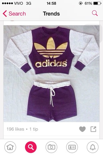 sweater adidas gray gold