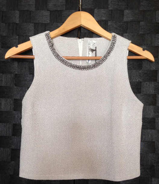 shirt boxy crop top