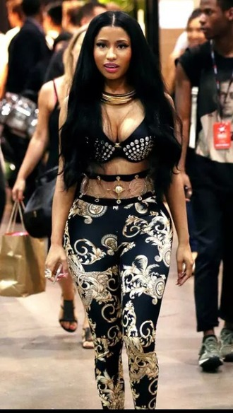 leggings nicki minaj printed leggings