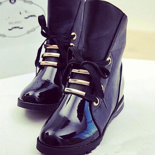 boots black boots