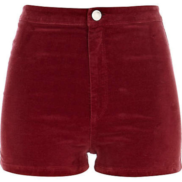 corduroy velvet shorts clothes skinny fit ruby lush High waisted shorts highwaisted turquoise