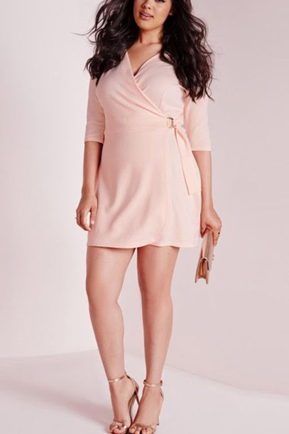 Dress Pink Dress Casual Dress Plus Size Dress Maykool Summer