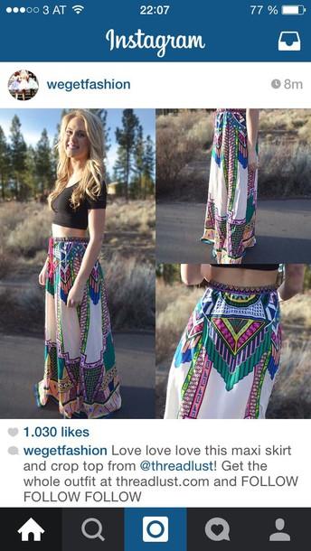 skirt allcolours long skirt high waisted skirt
