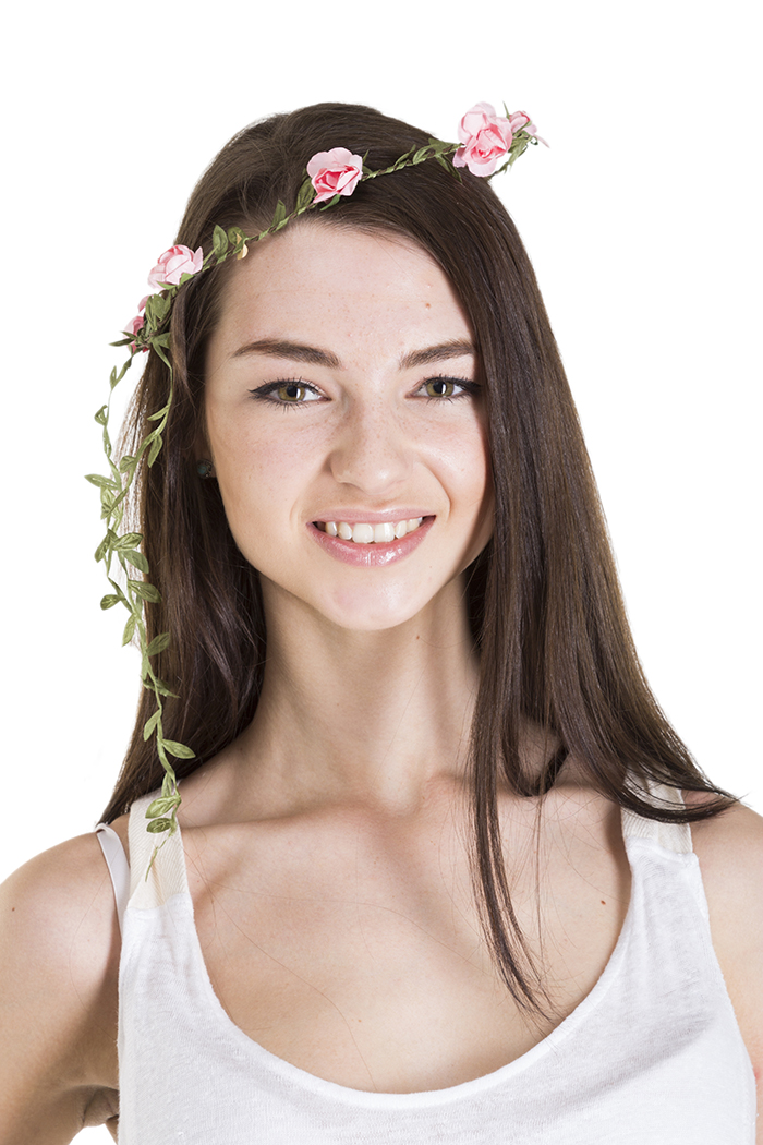 Floral Crowns : Pink Flower Crown