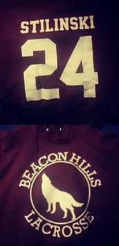 sweater,teen wolf,stiles,stiles stilinski,24,lacrosse,beacon hills,scott mccall,tv show