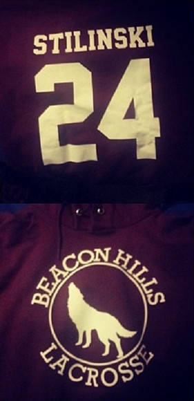 tv show sweater stiles stilinski stiles stilinski 24 lacrosse beacon hills scott mccall teen wolf