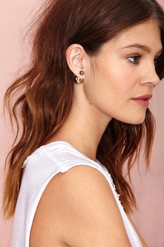 le fashion blogger jewels top earrings minimalist jewelry
