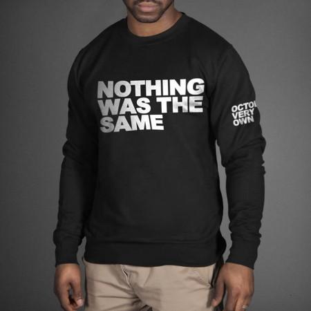 Nothing was the same september 24 ovo sweatshirt by drake