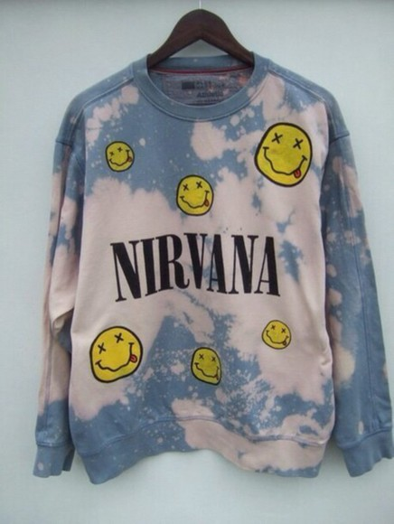 nirvana sweater crewneck