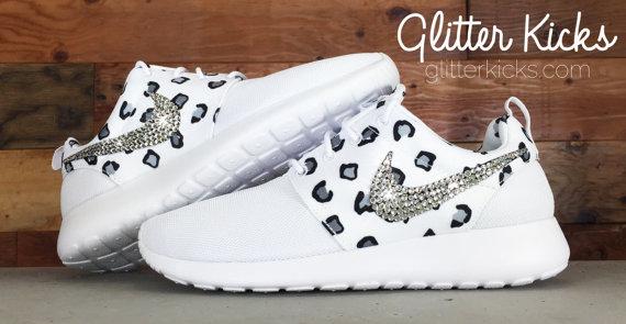 Bling Nike Roshe Run Glitter Kicks