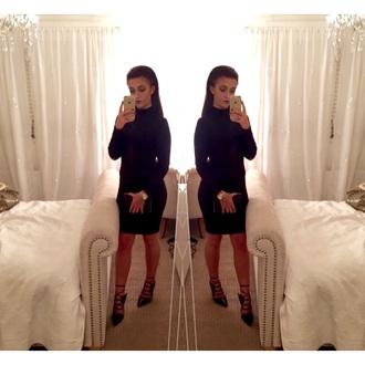 shoes black heels kim kardashian kylie jenner black dress style