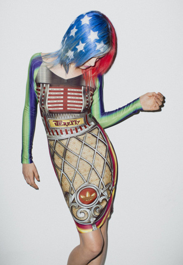 dress american look