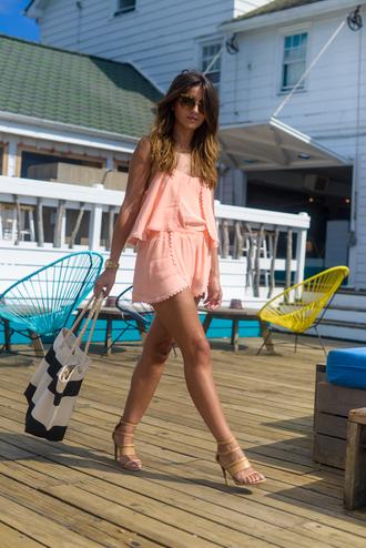 lovely pepa blogger jumpsuit sunglasses jewels