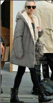 jacket,winter coat,long parka coat,warm,warm coat,warm jacket,grey,grey coat,long winter jacket,gray winter coat,winter outfits,long sleeves,long sleeve winter warm jacket,oversized,casual,casual winter jacket,casual musthave,preppy coat,preppy jacket,casual winter,moraki,coat,36683,warm fleece,fleece,wool overcoat,oversized cardigan