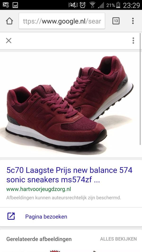 new balance 574 sonic burgundy womens