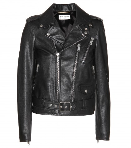Lederjacke ∇ saint laurent : mytheresa.com