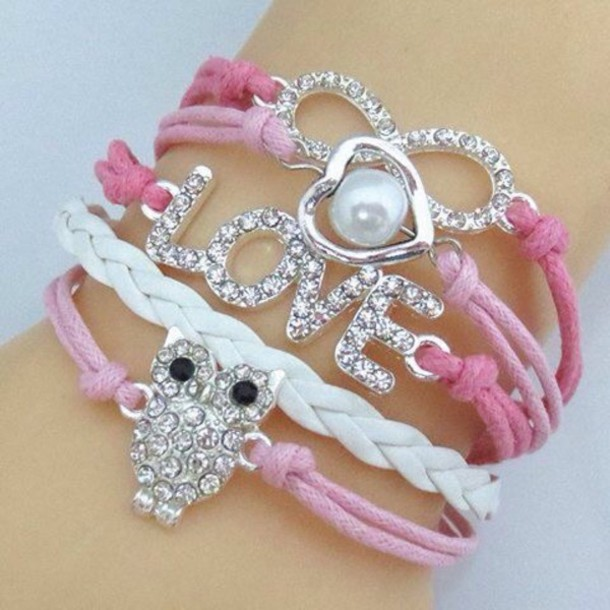 jewels owl bracelets infinite bracelets