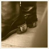 boots,black,shoes