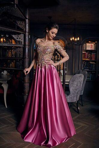 dress satin dress