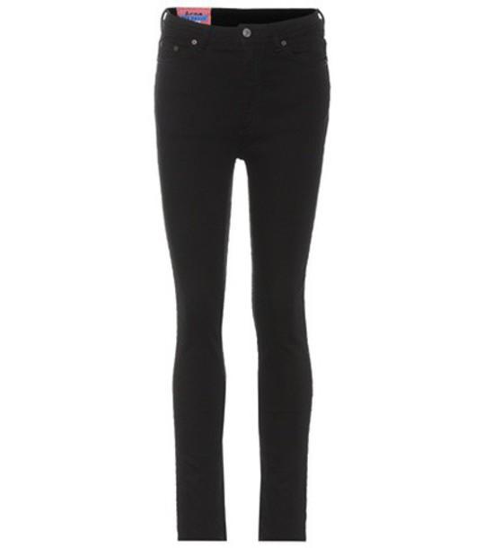 Acne Studios jeans skinny jeans black