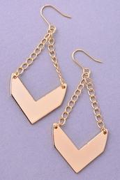 jewels,earrings,chevron