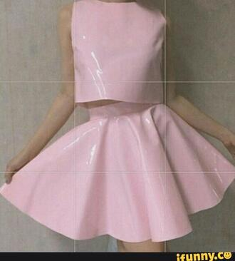 skirt pastel pastel pink pastel pink skirt pink skirt pink light pink grunge grunge top