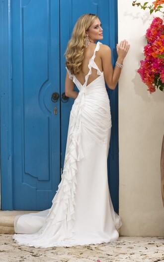 dress beach wedding dress wedding dress wedding clothes prom dress evening dress