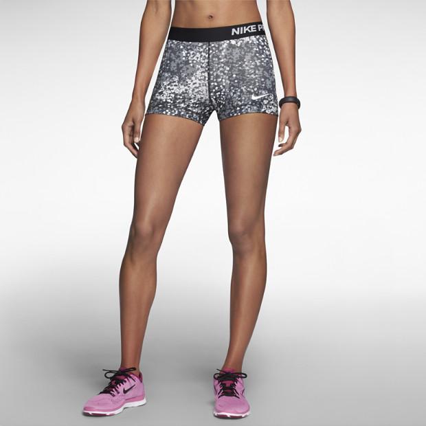 "Nike 3"" Pro Core Compression Printed Women's Shorts. Nike Store"
