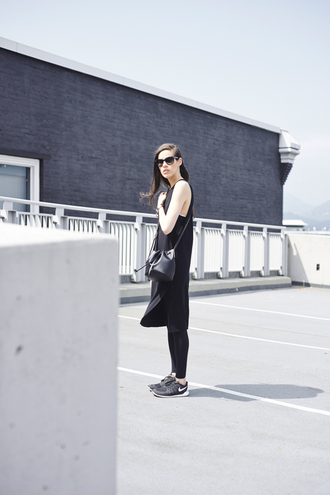 melissa araujo blogger dress leggings bag