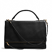 Coach :: THE URBANE BAG IN PEBBLED LEATHER
