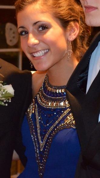 dress blue dress sparkly dress prom dress long prom dress