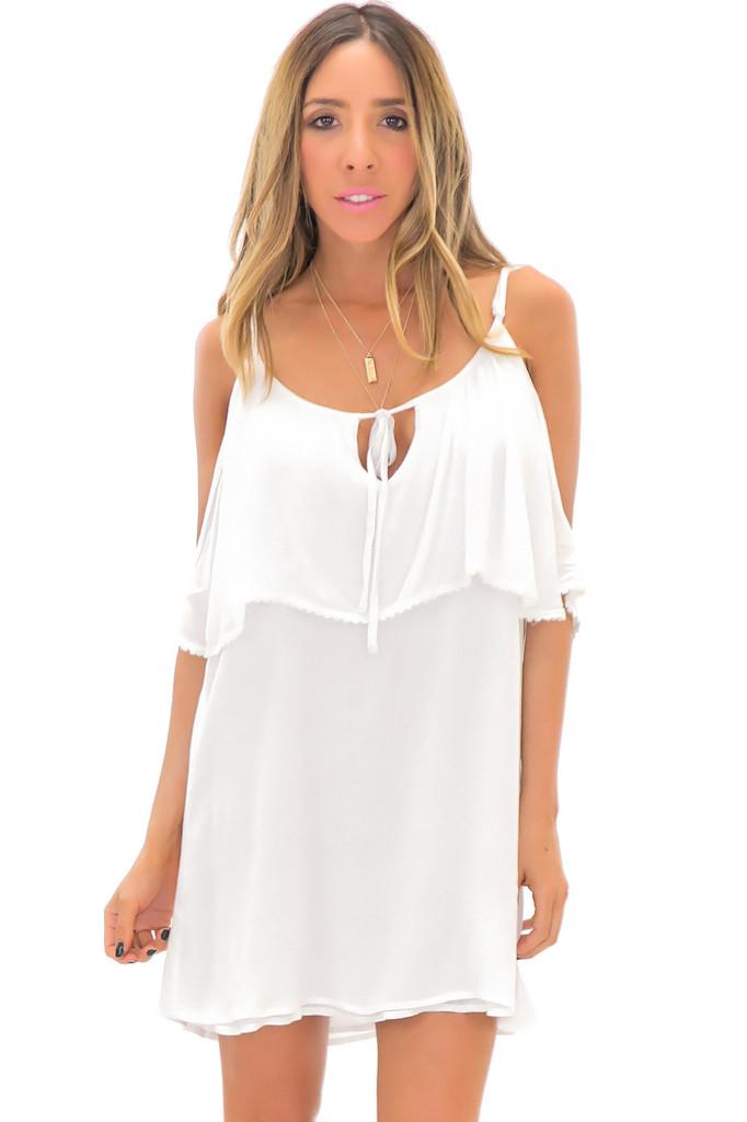 JANA OFF SHOULDER SUN DRESS | Haute & Rebellious