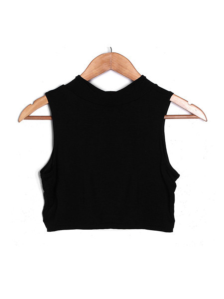 Race Neck Crop Top | Outfit Made