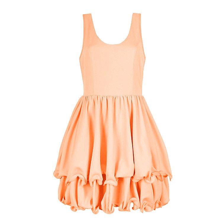 WIGGLE HEM DRESS - Ally Fashion