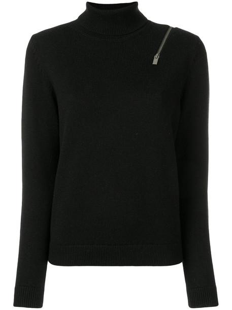 Steffen Schraut jumper zip women black sweater