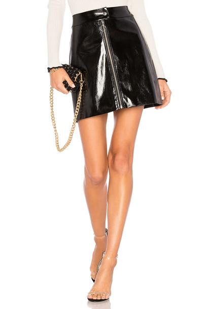 CAPULET skirt black