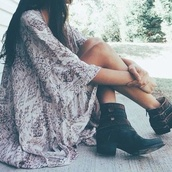 cardigan,boho,shoes,boots,ankle boots,black,cut out ankle boots,vintage,clothes,blouse,summer,tumblr