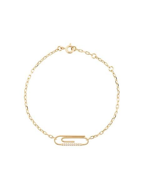 women gold grey metallic jewels