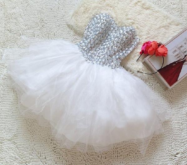 Temperament pink gauze dress