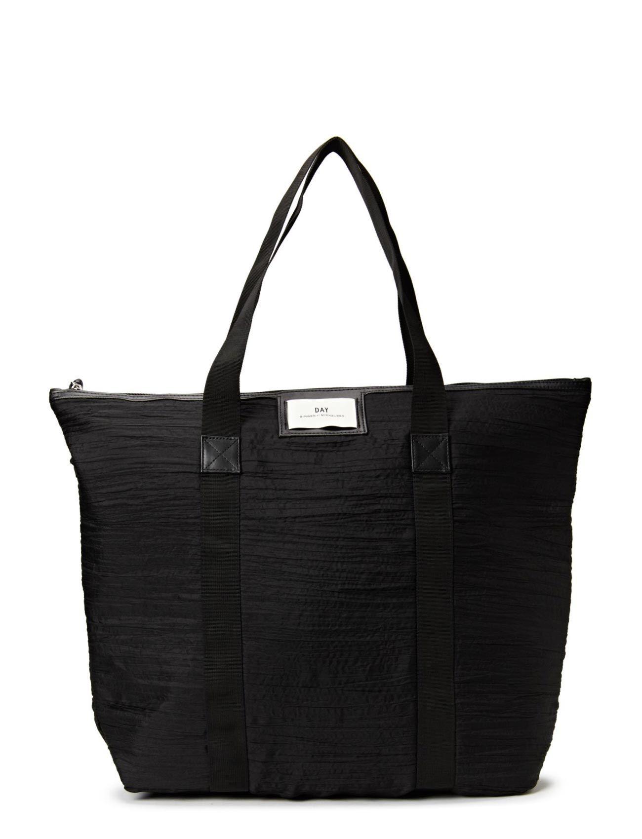 Night Gweneth Wrinkles Bag (Black) - DAY BIRGER ET MIKKELSEN Official UK Shop