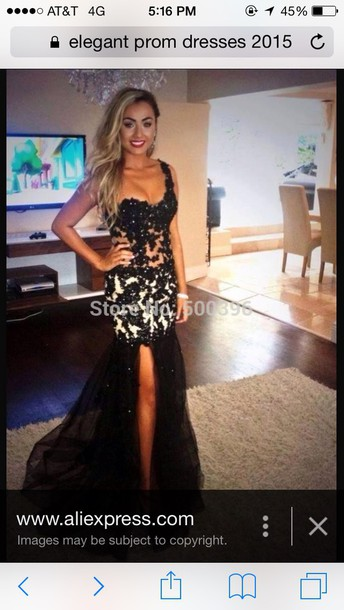 dress prom dress black and white mermaid one shoulder