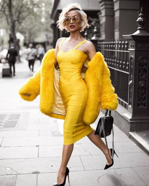 dress yellow yellow coat yellow dress midi midi dress party dress sexy party  dresses sexy sexy 9c45d4ee79cd