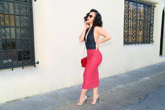 ktr style blogger bodycon dress halter dress