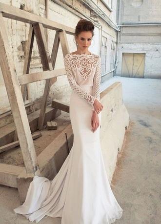 dress wedding dress beautiful lace