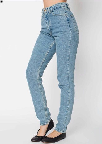 jeans high waisted jeans baggy pants baggy jeans blue jeans light blue jeans