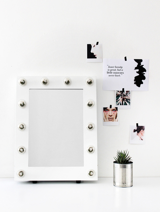 sirma markova blogger frame home accessory hipster mirror bathroom