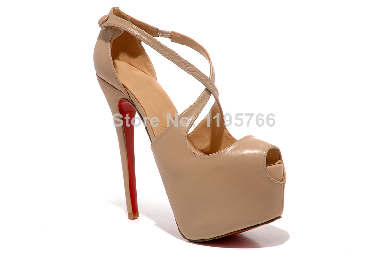 new 2014 top quality womens red sole pumps high heels zanotty giuseppe femme wedding shoes louboutinlieds-in Pumps from Shoes on Aliexpress.com