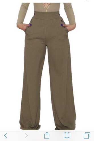 jeans high waisted trousers