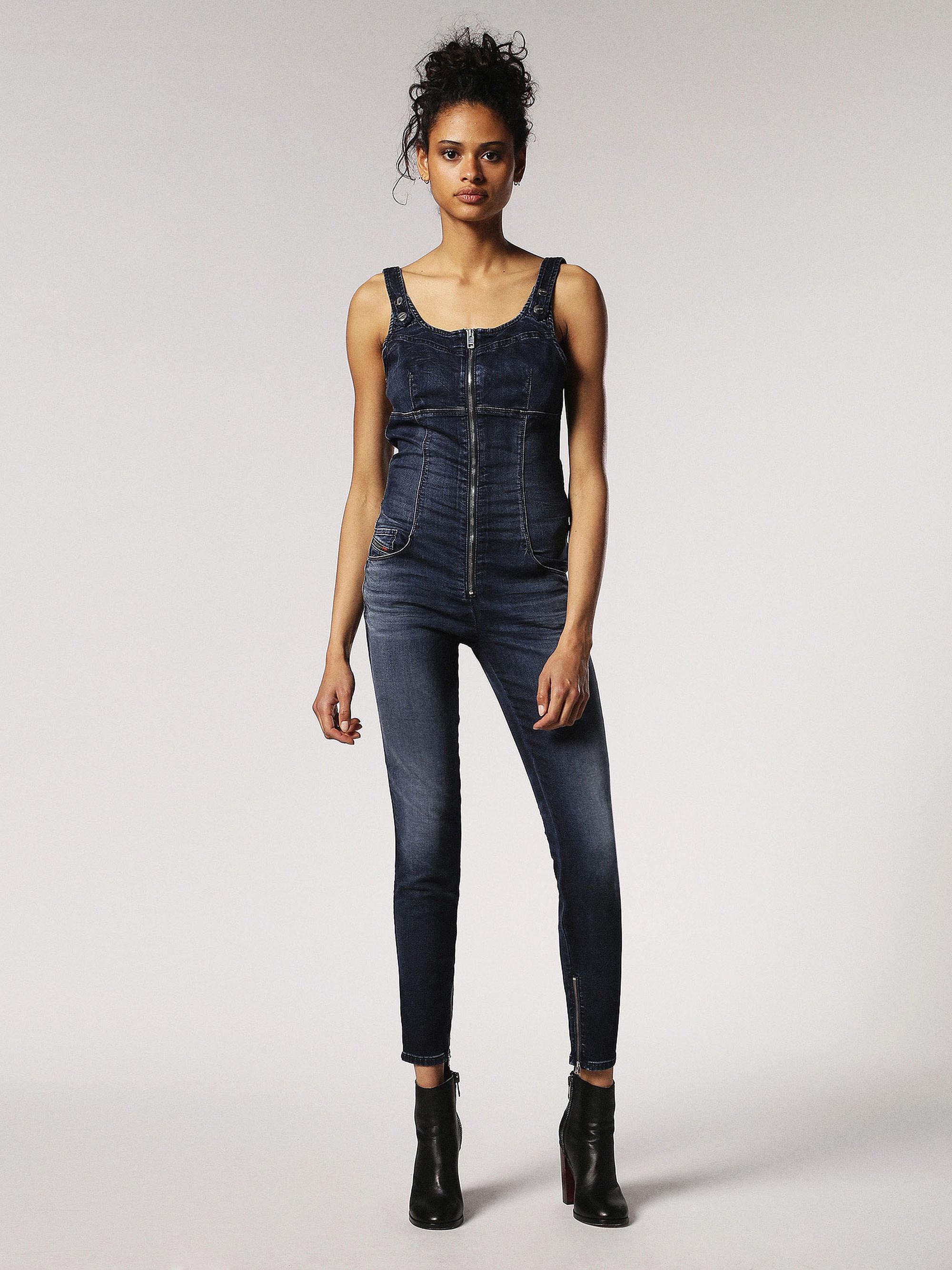 ZEPPEL JOGGJEANS Jumpsuits Woman | Diesel Online Store